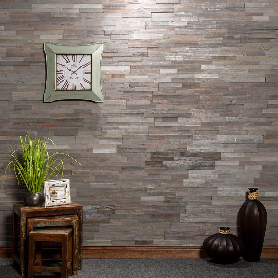 Wood Tile in Weathered Barn
