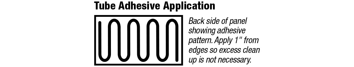 Tube Adhesive Application